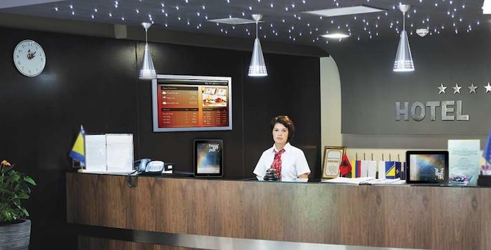 Otel Lobi Digital Signage Konumlandırma