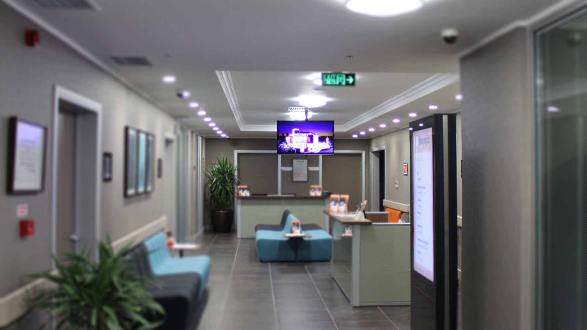 Hastanelerde Digital Signage